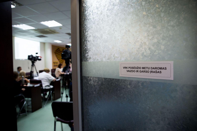 VRK prokurorų prašo įvertinti R.Šimašiaus vaizdo ataskaitas