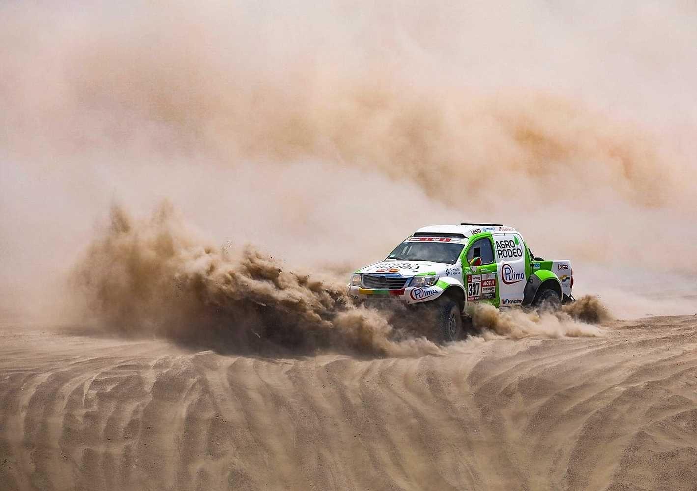 Dakaras: po septintojo etapo lietuviai išsaugojo svarbiausias pozicijas