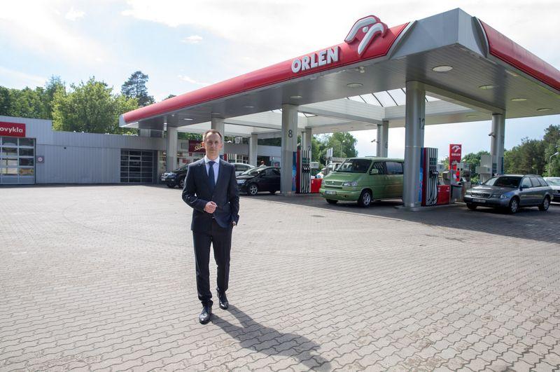 """""""Orlen Lietuva"""" degalinių tinklas. Juditos Grigelytės (VŽ) nuotr."""