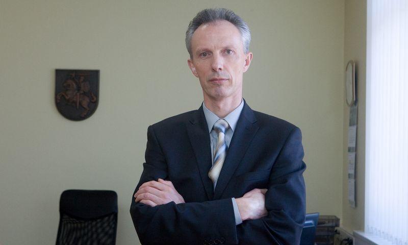Kęstutis Jucevičius, buvęs Finansinių nusikaltimų tyrimų tarnybos (FNTT) direktorius. Juditos Grigelytės (VŽ) nuotr.