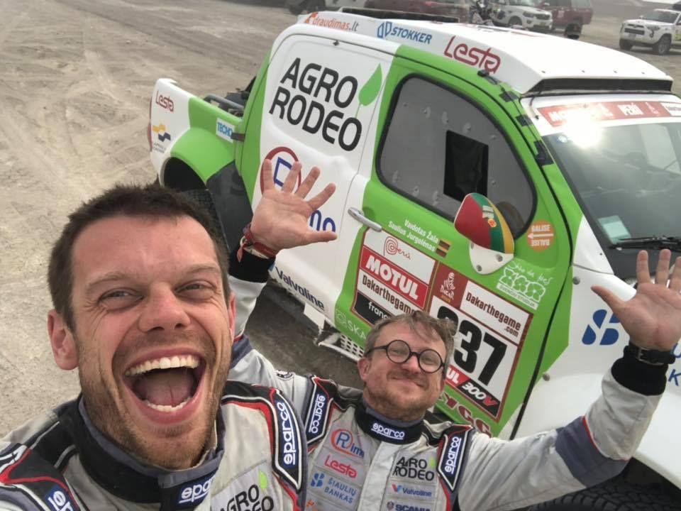 1,5 dienos iki Dakaro finišo: Vanago nesėkmė ir kitų lietuvių kilimas