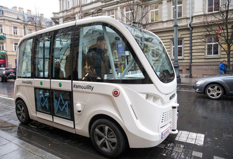 Savavaldžio viešojo transporto koncepcija Vilniuje pristatyta dar 2017 m. Juditos Grigelytės (VŽ) nuotr.