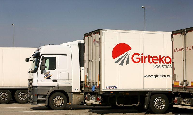 """Tarp 20-ies daugiausia darbo vietų pernai sukūrusių įmonių – 12-a logistikos bendrovių, iš kurių septynios priklauso """"Girtekos"""" grupei.  Vladimiro Ivanovo (VŽ) nuotr."""