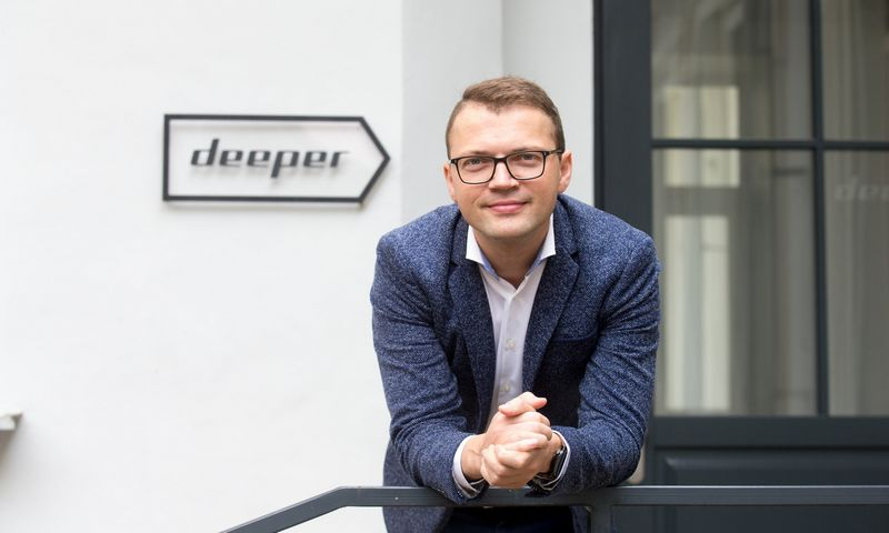 """Rolandas Sereika, UAB """"Deeper"""" rinkodaros ir pardavimų vadovas: """"Jungiame dvi daugiausia pardavimų rezultatams įtakos darančias komandas."""" Juditos Grigelytės (VŽ) nuotr."""