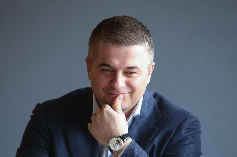 """Gediminas Žiemelis, """"Avia Solutions Group"""" valdybos pirmininkas: """"Negali būti vienoje rinkoje per didelis."""" Vladimiro Ivanovo (VŽ) nuotr."""