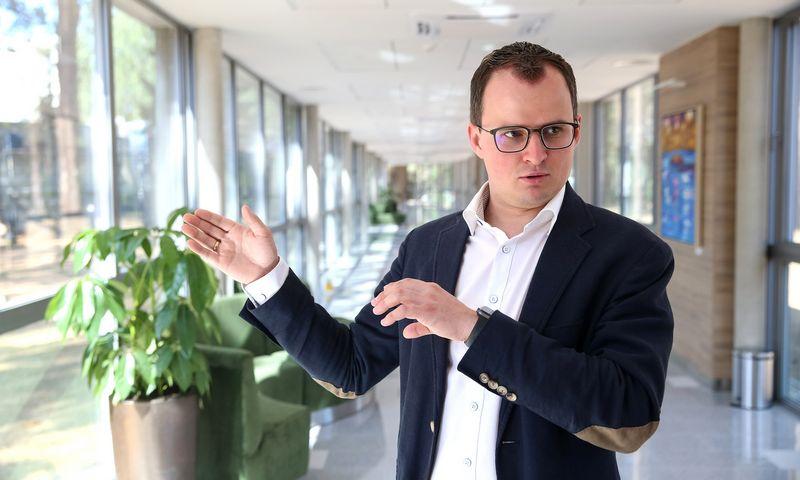 """Artūras Salda, AB """"Eglės"""" sanatorijos direktorius, sako, kad trečdalis bendrovės vadovų yra ne vietos gyventojai. Vladimiro Ivanovo (VŽ) nuotr."""