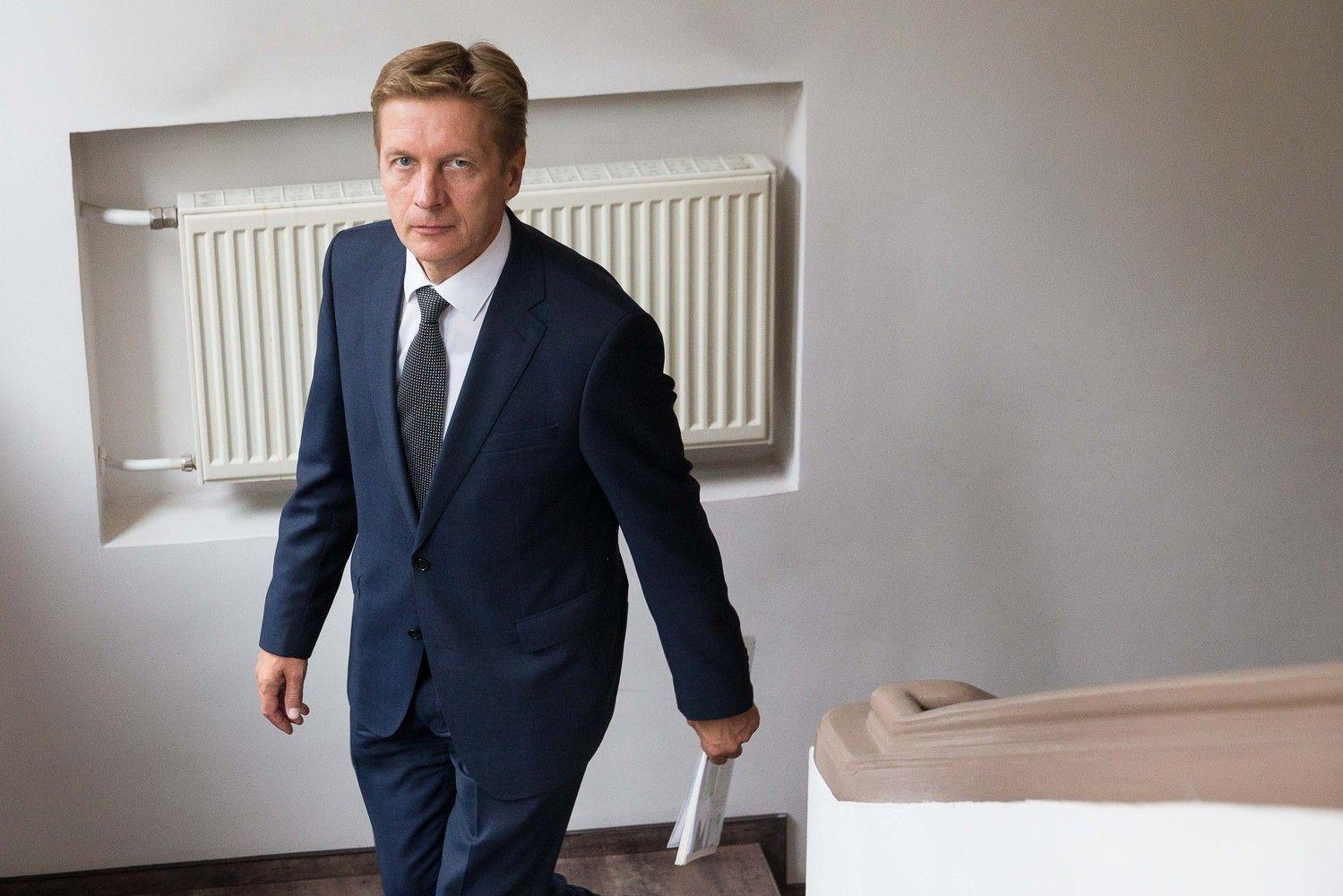 Klaipėdos uosto vadovas A. Vaitkus išeina atostogų, nušalinamas nuo dalies sprendimų