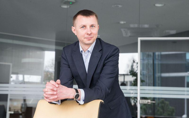 "Arvydas Jacikevičius, ""INVL Asset Management"" fondų valdytojas. Juditos Grigelytės (VŽ) nuotr."