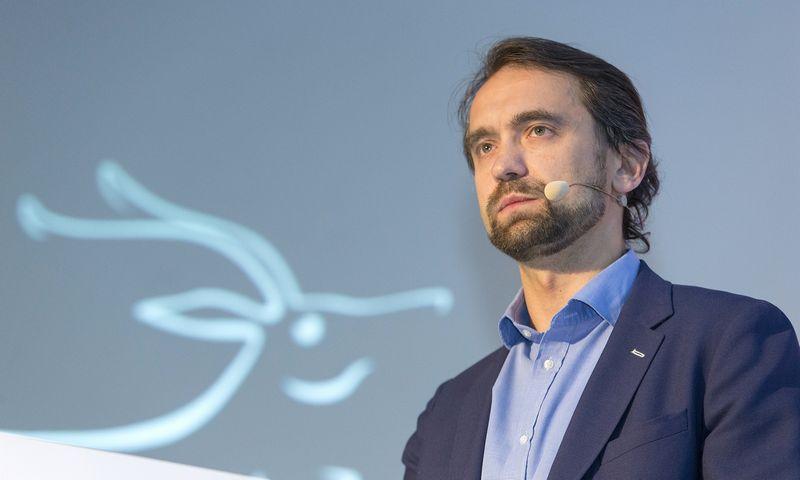 """Šarūnas Šiugžda, """"LitCapital"""" steigėjas ir vadovaujantis partneris: """"Su visų fondo portfelyje turimų įmonių galimais pirkėjais kalbamės."""" Vladimiro Ivanovo (VŽ) nuotr."""
