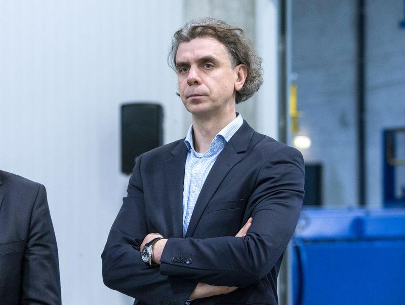 """Saulius Budrevičius, UAB """"Ecoservice"""" generalinis direktorius: """"Šiuo metu sunkiai dirbame nuo ryto iki vakaro, kad spėtume laiku, o kai ta kova su laiku pasibaigs, tikimės institucijų išmintingo požiūrio."""" Juditos Grigelytės (VŽ) nuotr."""