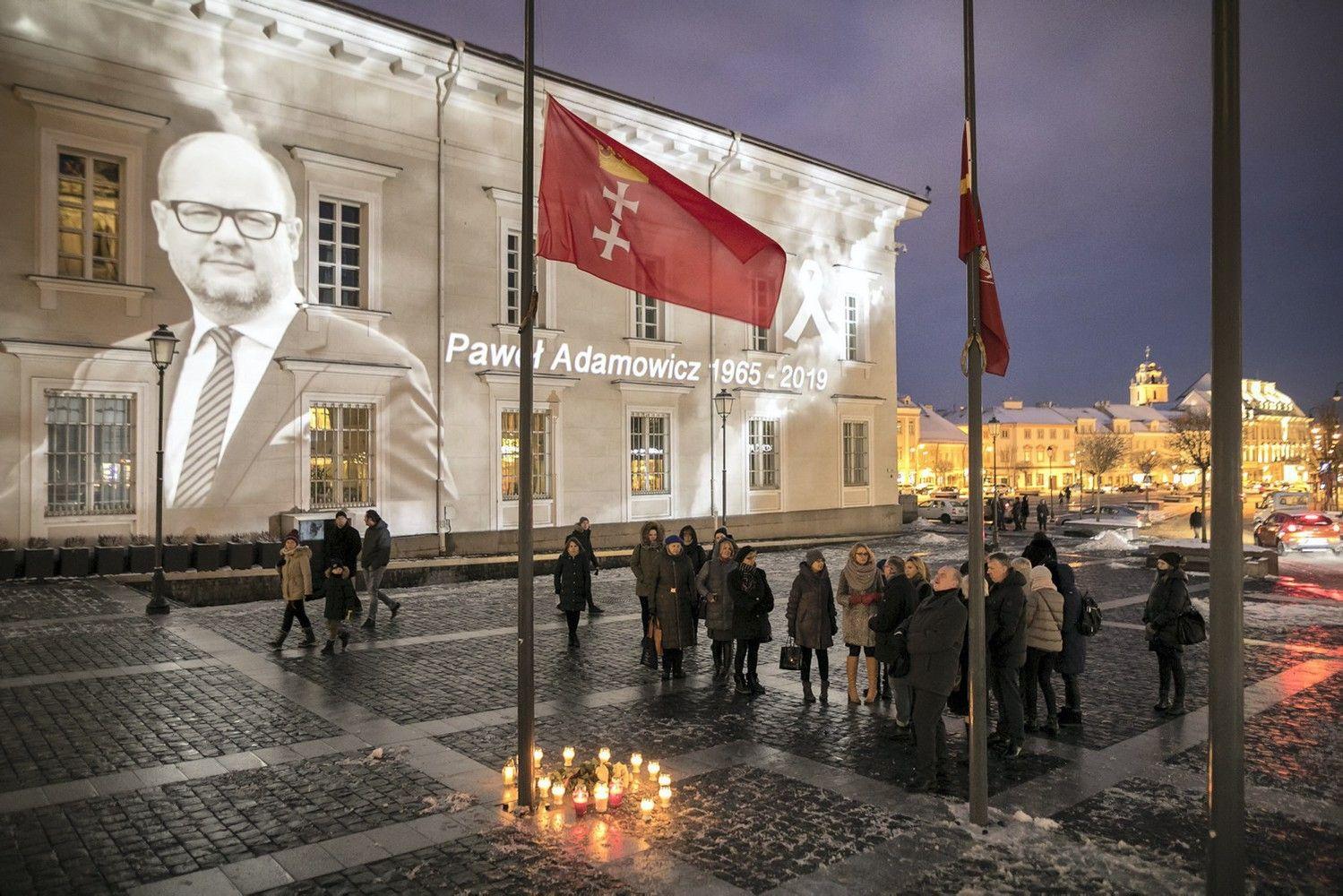 Vilnius gedi kartu su Gdansku
