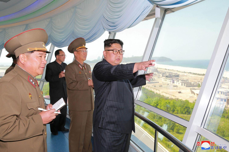 Šiaurės Korėja į kurortą vilios milijonus turistų
