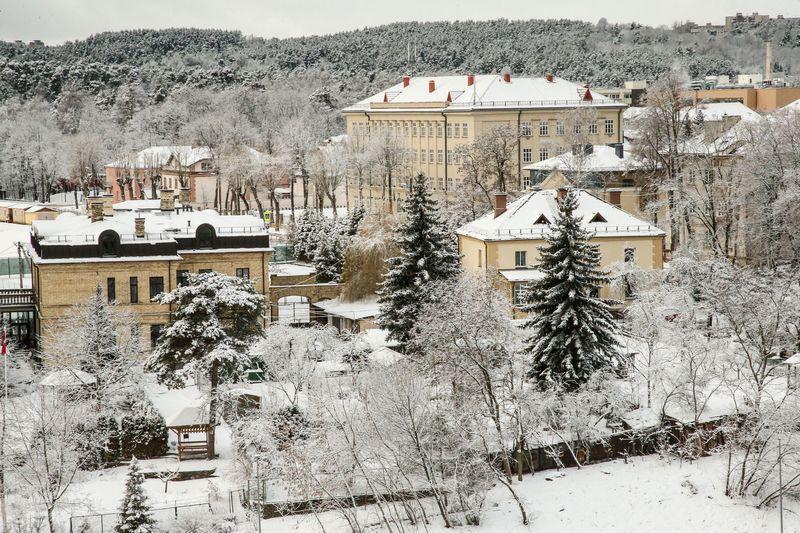 Vilnius žiemą. Vladimiro Ivanovo (VŽ) nuotr.