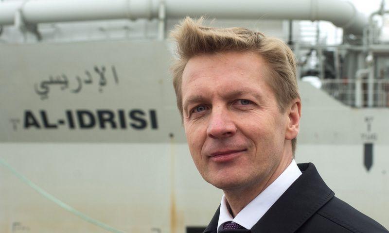 Arvydas Vaitkus, Klaipėdos valstybinio jūrų uosto direkcijos (KVJUD) generalinis direktorius. Algimanto Kalvaičio nuotr.