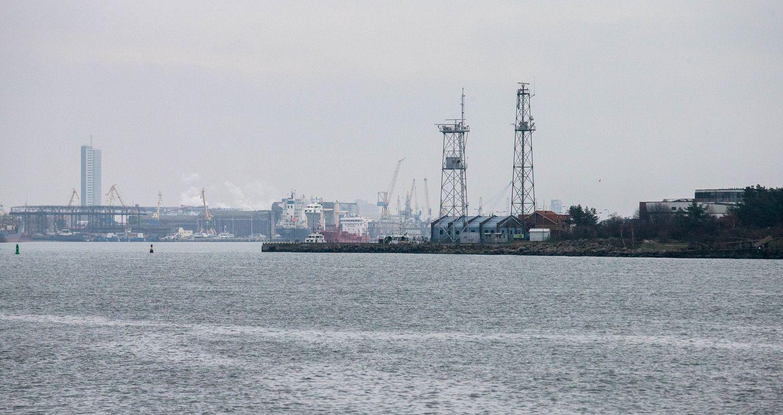 Klaipėdos uoste išsiliejo naftos produktai