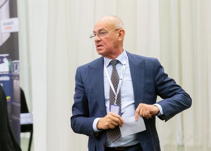 M. Atroškevičius būgštauja, kad Lietuvos vežėjų verslui maišomas Molotovo kokteilis. Juditos Grigelytės (VŽ) nuotr.