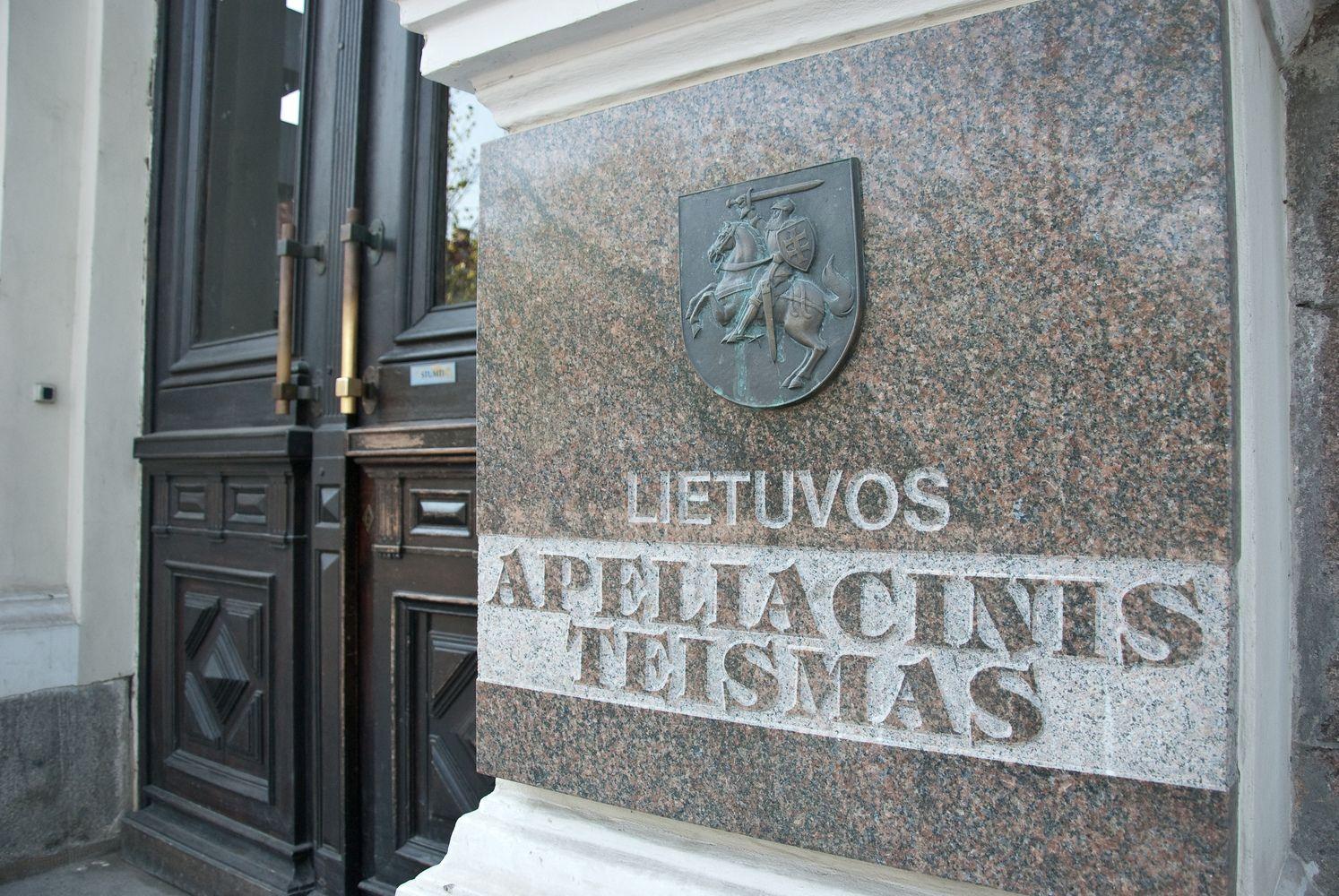 Prezidentė paskyrė dvi Lietuvos apeliacinio teismo teisėjas