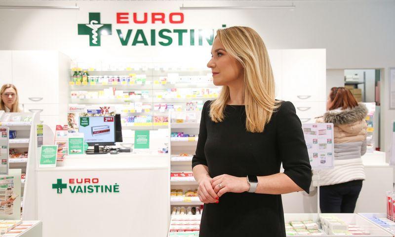 """Kristina Gumauskienė, """"Eurovaistinės"""" rinkodaros vadovė. Vladimiro Ivanovo (VŽ) nuotr."""