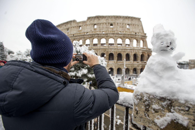 Daugiausia turistų pernai sutraukė Romos koliziejus