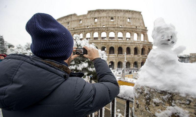 """Pagal paskirtį didžiausias pasaulyje amfiteatras buvo naudojamas apie 500 metų. Pierpaolo Scavuzzo (""""Sipa"""" / """"Scanpix"""") nuotr."""