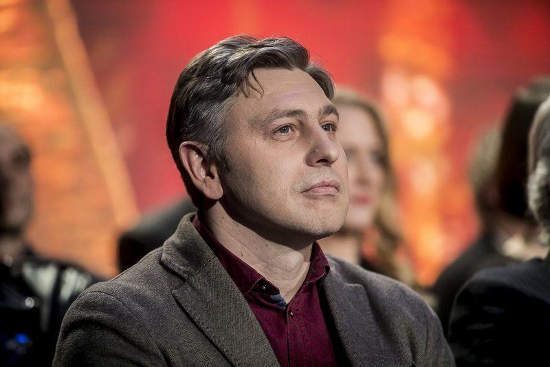 """Nacionalinės kultūros ir meno premijos laureatas Marius Ivaškevičius.  Viganto Ovadnevo / """"Scanpix"""" nuotr."""