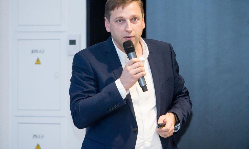 """Evaldas Remeikis, bendrovės """"Neo Finance"""" valdybos pirmininkas. Juditos Grigelytės (VŽ) nuotr."""