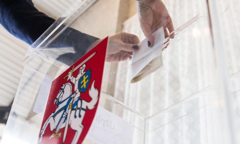 Lietuvos rinkėjai šiemet mažiausiai tris kartus bus kviečiami prie baklsadėžių. Juditos Grigelytės (VŽ) nuotr.