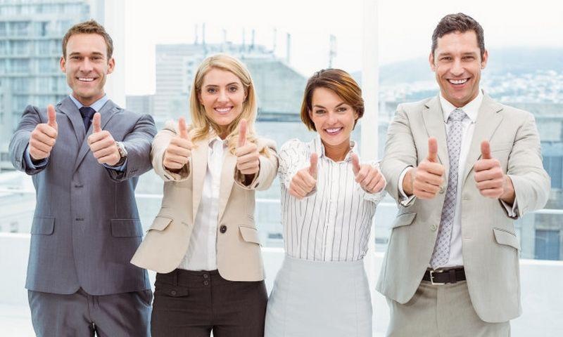"""Kai žmogus gerai jaučiasi darbe, žino, kad yra vertinamas bendrovėje, tuomet jis yra linkęs tobulinti savo kompetencijas. """"Matton"""" nuotr."""