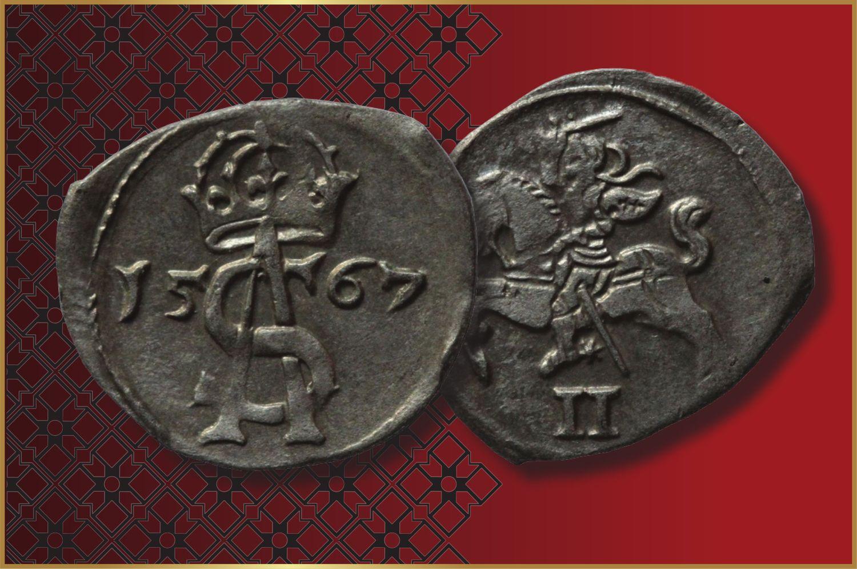 Numizmatams – autentiškų LDK monetų rinkinys