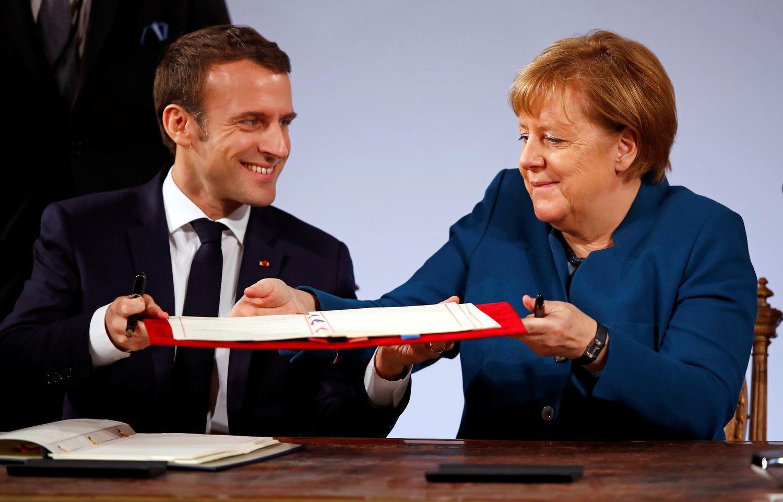 Vokietija ir Prancūzija pasirašė naują draugystės sutartį