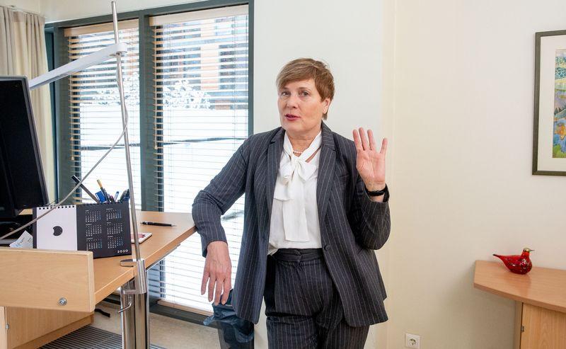 """UAB """"J. Friisberg & Partners"""" vadovaujančioji partnerė Nijolė Kelpšaitė. Juditos Grigelytės (VŽ) nuotr."""