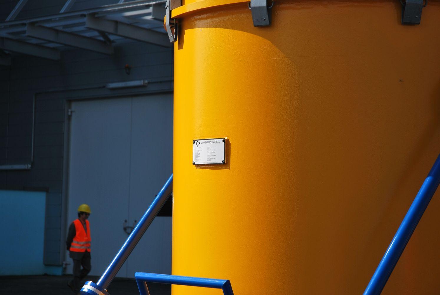 Ignalinos AE saugykloje – 90 konteinerių su panaudotubranduoliniu kuru