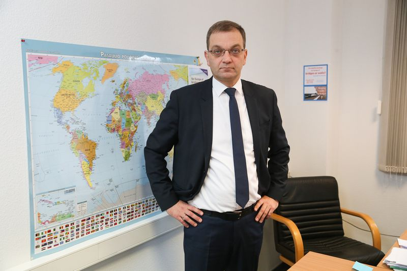 """Tomas Garuolis, """"Linavos"""" sekretorius transporto politikai. Vladimiro Ivanovo (VŽ) nuotr."""
