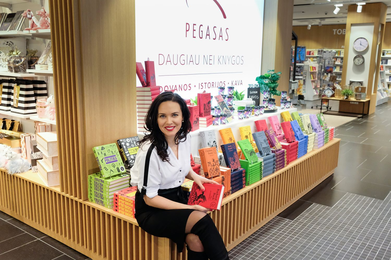 """""""Pegaso"""" patirtis: knygų pardavimus augina kitos prekės"""