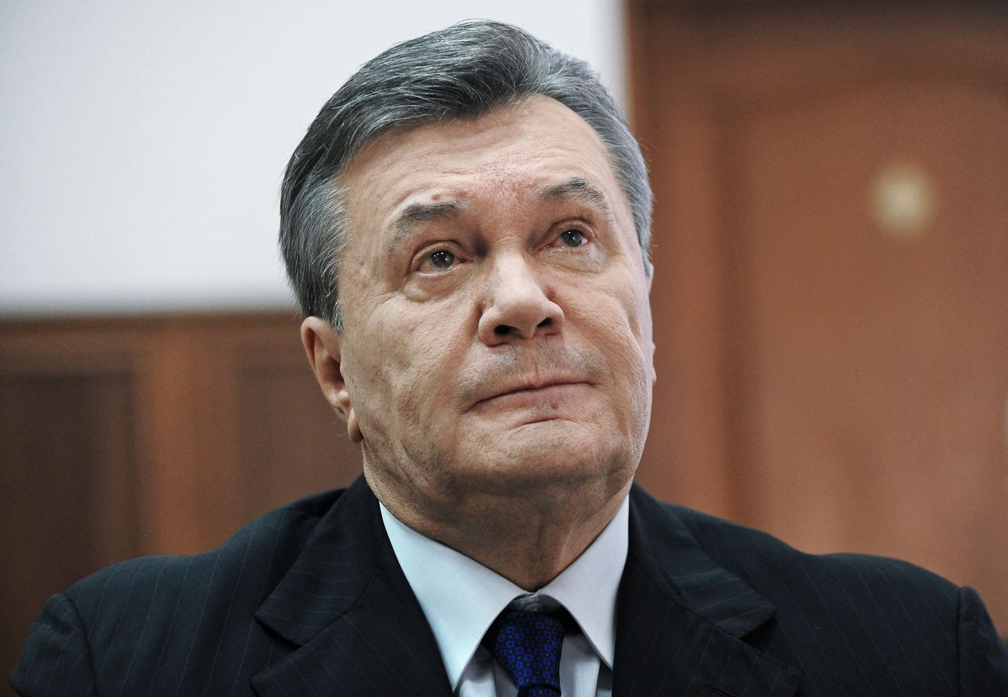 Ukrainos teismas už akių nuteisė buvusį šalies prezidentą V. Janukovyčių
