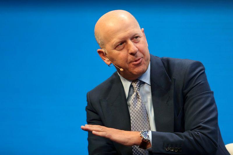 "Davidas M. Solomonas, ""Goldman Sachs"" vykdomasis direktorius. Lucy Nicholson (""Reuters"" / ""Scanpix"") nuotr."