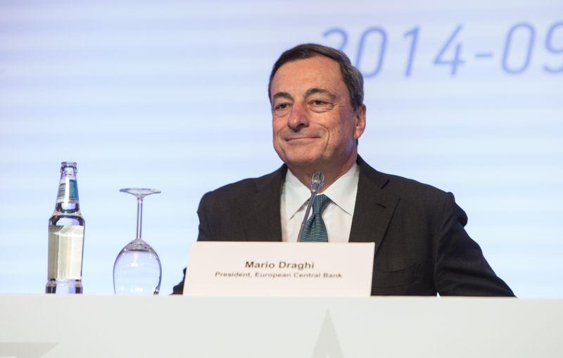 Mario Draghi, ECB vadovas. Juditos Grigelytės (VŽ) nuotr.