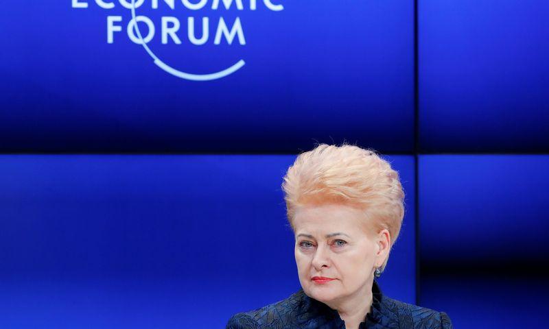"Dalia Grybauskaitė. Deniso Balibouse (""Reuters"" / ""Scanpix"") nuotr."