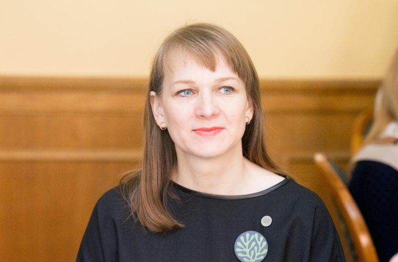 Viceministrė Gintautė Žemaitytė lieka dirbti naujojo kultūros ministro Mindaugo Kvietkausko komandoje. Juditos Grigelytės (VŽ) nuotr.