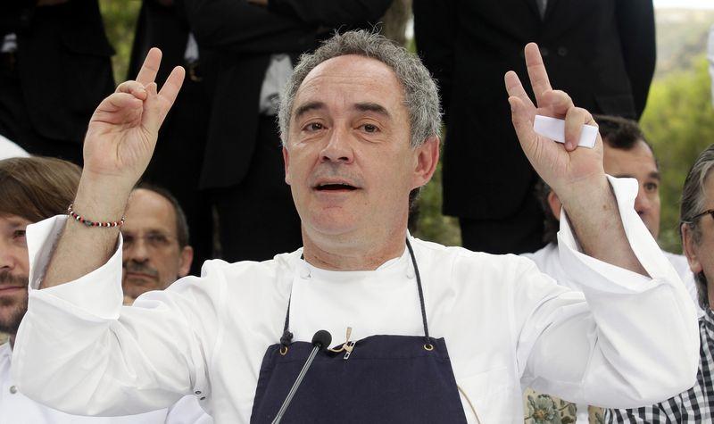 "Restorano ""El Bulli"" įkūrėjas, ispanų molekulinės virtuvės pradininkas Ferranas Adria. Alberto Gea/(""Reuters""/""Scanpix"") nuotr."