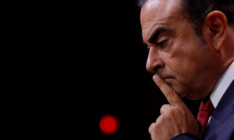 """Carlosas Ghosnas atsistatydino iš """"Renault"""" vadovybės. Philippo Wojazerio (""""Reuters"""" / """"Scanpix"""") nuotr."""