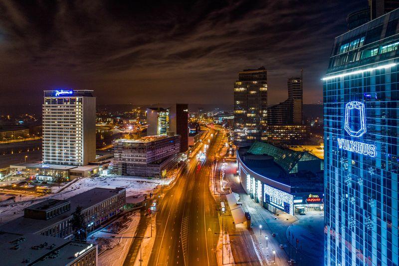 """Šiemet Vilnius švenčia 696-ąjį gimtadienį. Irmano Gelūno (""""Scanpix"""") nuotr."""