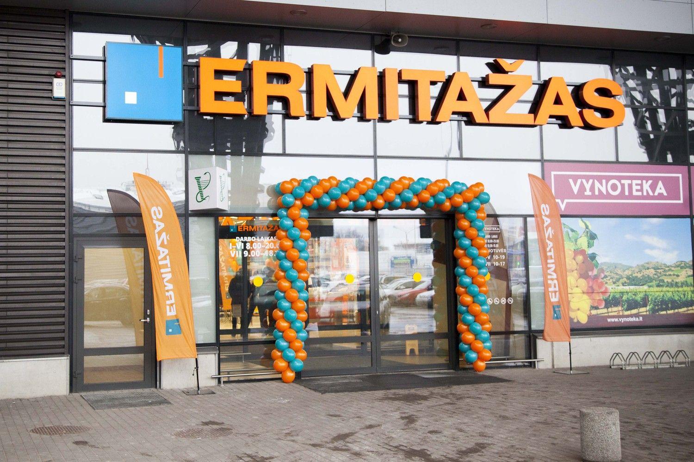 """""""Ermitažas"""" į naują parduotuvę Kaune investavo per 5 mln. Eur"""