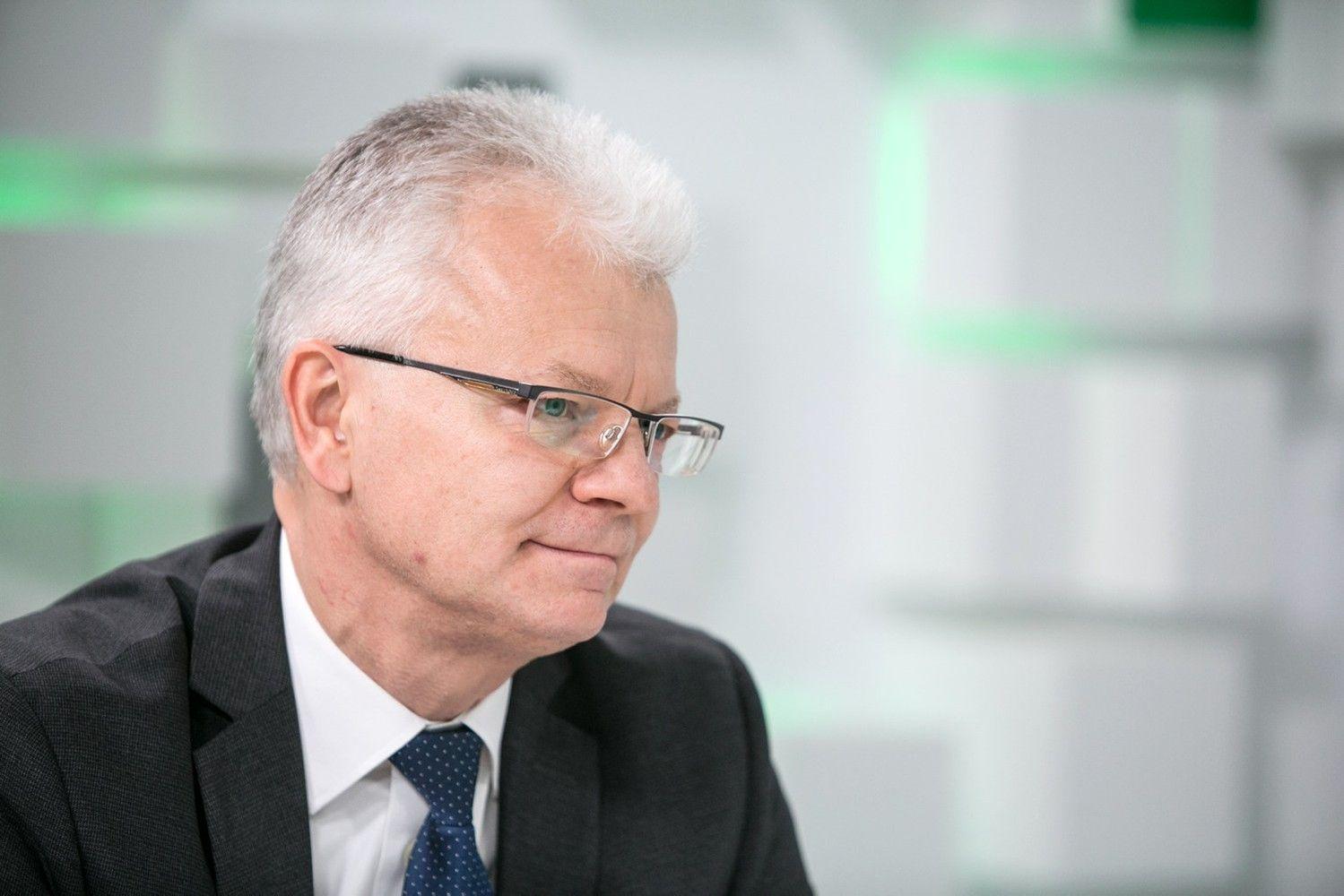 """R. Degutis: Briuselyje nėra vieningos nuomonės dėl """"Rail Baltica"""" atšakos Vilnius-Kaunas"""