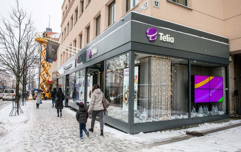 """""""Telia Lietuvos"""" pelnas 2018 m. pakilo beveik dešimtadaliu"""