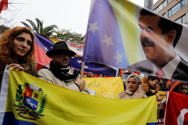 Didžiosios Europos šalys paskelbė Maduro ultimatumą