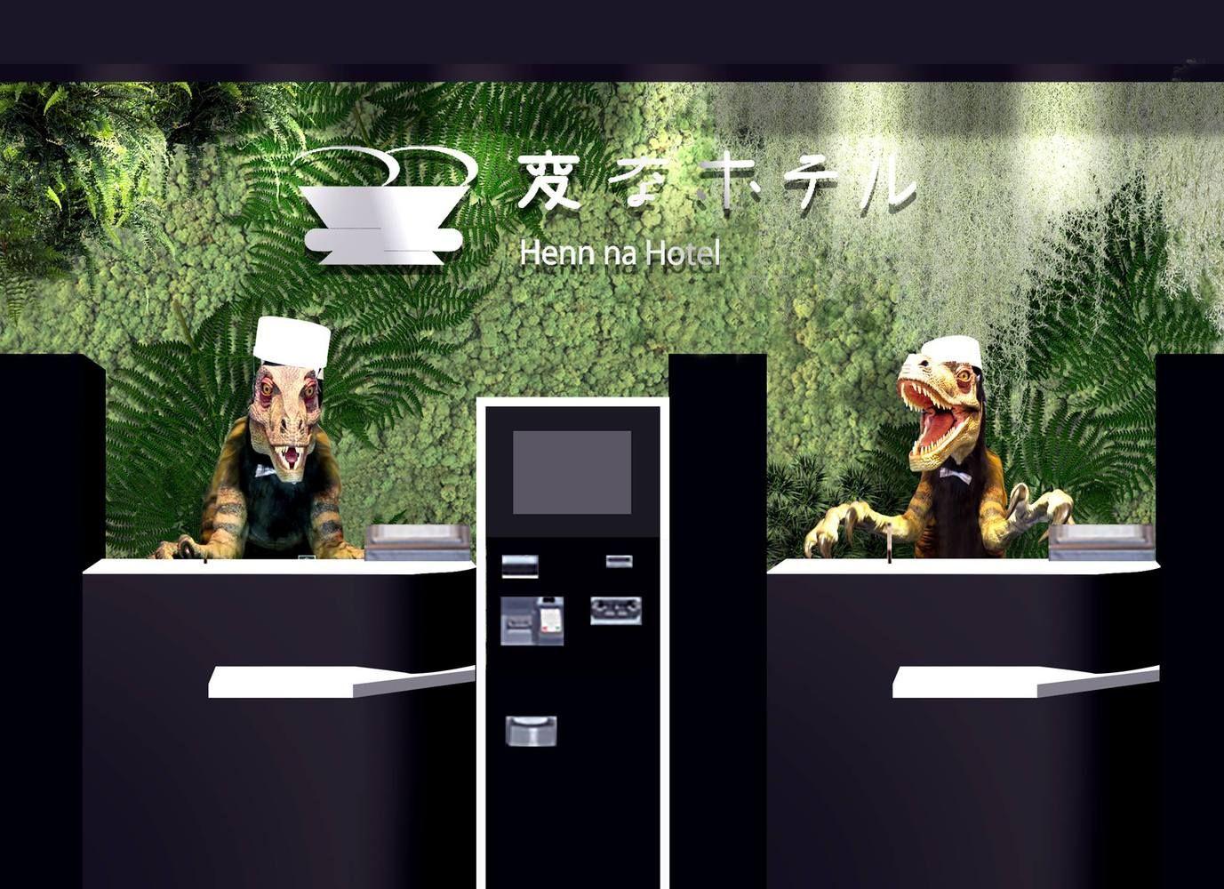 Japonijos robotų viešbutis atleido pusę darbuotojų