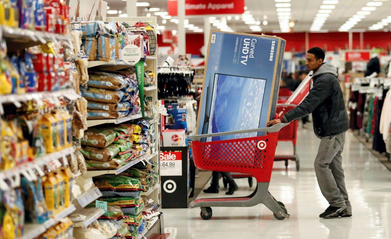 Amerikiečiai aplanko mažiau parduotuvių