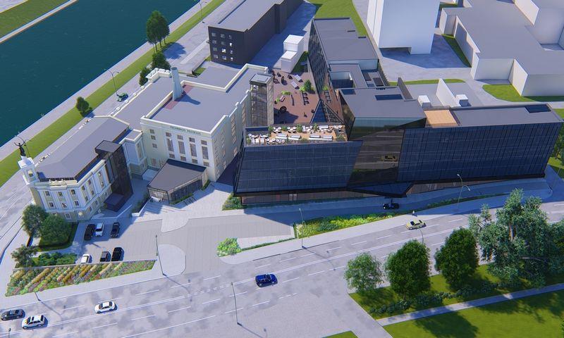 Energetikos ir technikos muziejus. Vizualizacija.