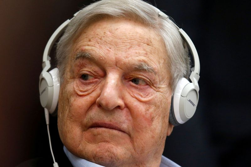"""George'as Sorosas, milijardieirus investuotojas ir filantropas. Charles Platiau (""""Reuters"""" / """"Scanpix"""") nuotr."""